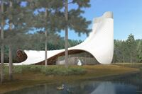 Entry Embracing Natural Ventilation and Energy Efficiency Wins UNF Interfaith Chapel Competition