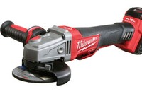 Milwaukee Delivers First Cordless Braking Grinder Solution