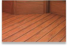 Figure 9. A PVC-coated hybrid, XLM decking comes with a Class A fire rating that should allow its use in wildland-urban interface fire zones.