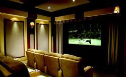 BIG EASY: Buyers of Orleans' homes can opt for a HiFi House home theater that's ready to go the day they move in.
