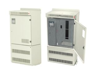 The Synthesis CH2 Series of uninterruptible power supplies from Chloride Systems is available in four capacity ratings (600W, 1,000W, 1,500W, and 2,000W). The series accommodates advanced lighting systems by using double conversion continuous UPS technology. Standard features include an automatic battery system and remote communication capabilities. The standard battery run time listing is UL 924, 90 minutes; but a UL 924 auxiliary lighting and power listing increases battery run times by 10 or 20 minutes. The Synthesis CH2 Series allows for up to 12 single-pole output circuit breakers (without trip alarm) and up to six single-pole output circuit breakers (with trip alarm) for load distribution. chloridesys.com