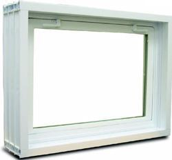 Window WallACCURATELY FORMING A WINDOW OPENING IN A POURED foundation can be time-consuming and tricky: If the frame is set incorrectly, the window will not operate. The manufacturer says the Series 400 poured basement window system saves time and increases accuracy. The two-piece system has a wood-reinforced frame that maintains its integrity during the pour. Once the foundation has dried, the wood reinforcements are removed and the window is inserted into the frame. The system comes in three sizes. Cost: $99 for the 32-inch-by-15-inch window. Silver Line Windows. 732-937-5800. www.silverlinewindows.com. Circle no. 105.