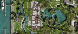 A rendering of Lennar CEO Stuart Miller's 11 Star Island mega-mansion project.
