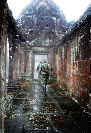 Khmer Temple of Preah Vihear, Southeast Asia