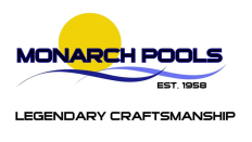 Monarch Swimming Pools, Inc. Logo