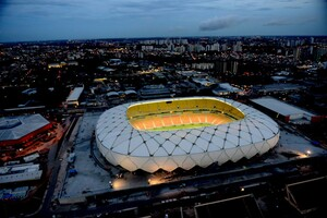 High-tech Stadium for 2014 FIFA World Cup in Brazil Built with Specialty Cement