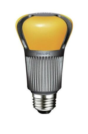 Philips' first-generation A19 LED replacement lamp.
