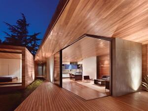 The Bal House, a 2012 Residential Architect Design Awards winner, is an addition to and remodel of a residence in Menlo Park, Calif., by Terry & Terry Architecture.