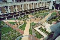 Cleveland State University Plaza: Cleveland