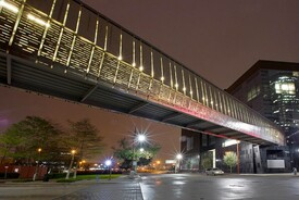 Houston Ballet Center for Dance,  Pedestrian Skybridge