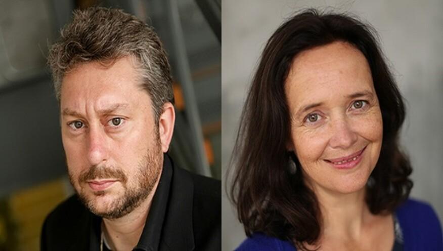 Left: Jason McLennan; Right: Amanda Sturgeon