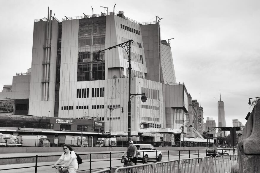 The new Whitney Museum, by Renzo Piano Building Workshop, is scheduled to open in 2015.