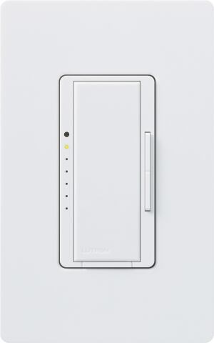 Lutron Electronics' Maestro eco-minder dims homeowners' lights; its LED alerts them if they're conserving energy, too, changing from red to green if energy savings exceed 15 percent. It's available in white, almond, and ivory. Lutron Electronics Co., 888.588.7661;  www.lutron.com