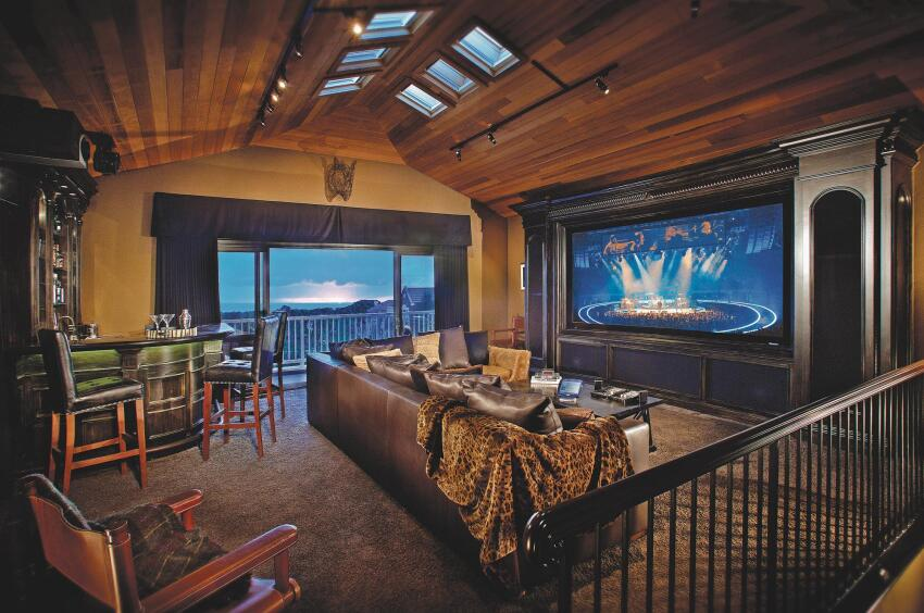 Room With a View: Media Room Design