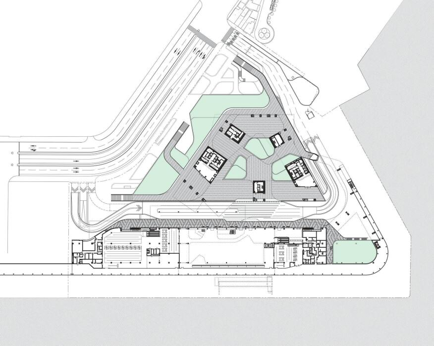 New keelung harbor service building designed by neil m for Website build project plan