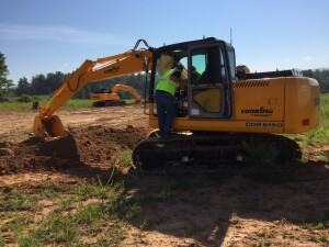 With 65 feet of reach, the 264 hp Lonking 6365 excavator is good for clearing ditches. Key accounts price: $298,000. IronDirect sells Tier 3 machines using EPA exemptions and expects Tier 4 machines to be available in 2017.
