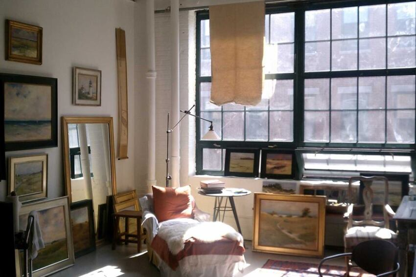 Boston Architect Shows Off His Painting Skills