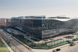 Aedas-design Sina Plaza in Beijing Completed