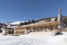 Foster + Partners Revamps a Century-Old Pavilion in a Swiss Resort