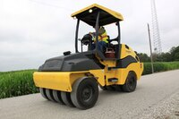 BOMAG tire roller