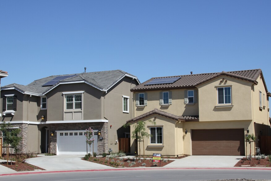 D.R. Horton's luxury Orchid community in Milpitas, Calif., includes 1.5 kW solar electric systems from Solar4America standard. Buyers have the option to