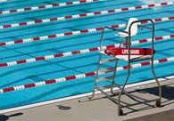 Vista Lifeguard Stand. Designed for Lifeguard and Swimmer Safety