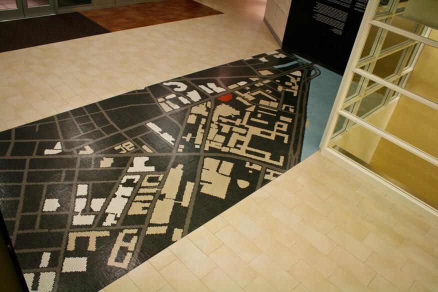 MIT Koch Center Public Gallery.