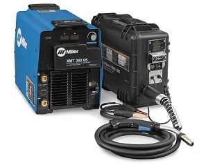 Welding operators can improve quality control and reduce improper parameter selection with new enhancements to the XMT 450 WCC and XMT 350 WCC multiprocess welders. The feeder recognizes polarity and sends a message via the weld cable to the power supply, which automatically selects the best process based on the connection. This also reduces the need for welding operators to leave the work area to change processes — improving safety, quality and productivity.