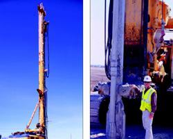 Pile Driving Gives Way to CIP Concrete