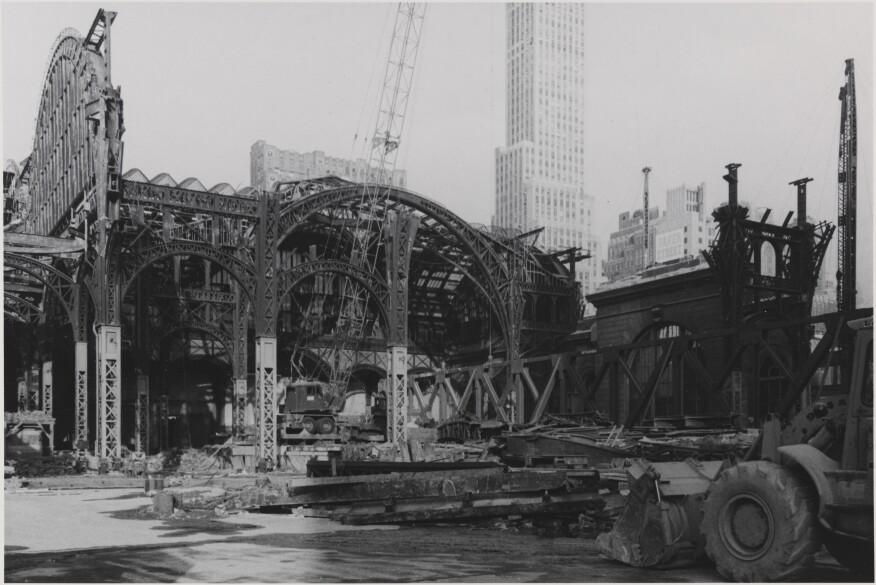 Aaron Rose, Demolition of Pennyslvania Station, 1964-65.