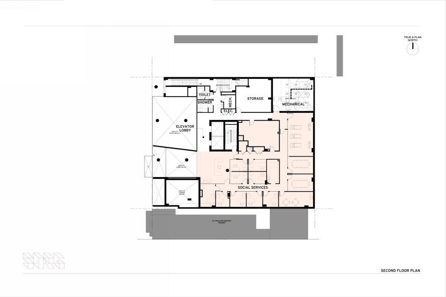 Second floorplan.