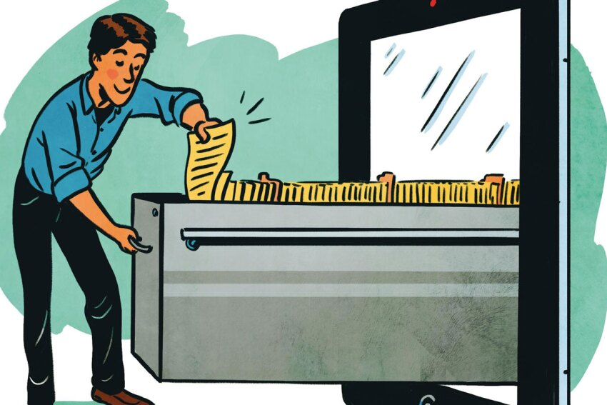 Happy (Paper) Trails: Going Paperless in the Office