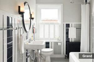 Grand Award, Bathroom Remodeling Under $25,000: Simple Salvation