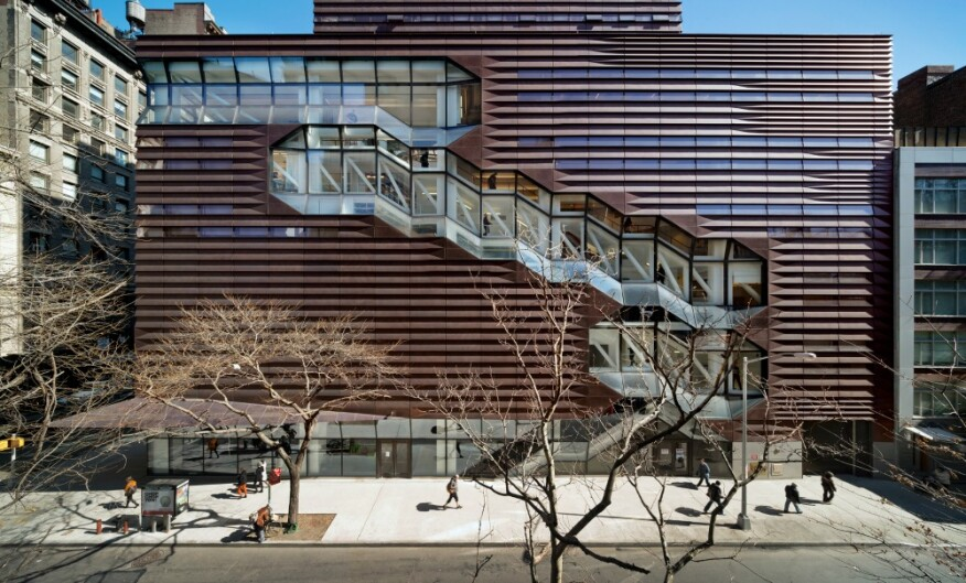 2015 COTE Top 10: University Center - The New School