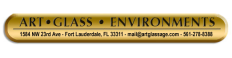 Art Glass Environments Logo