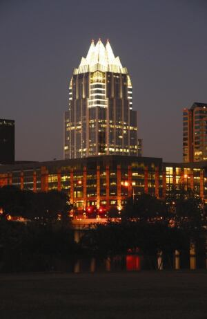 A very pretty night in Austin, Texas.