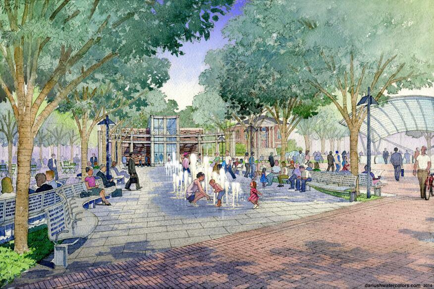 Eastern Market Metro Park, Washington, D.C., Weinstein Studio/Esocoff & Associates