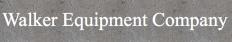Walker Equipment Co. Logo