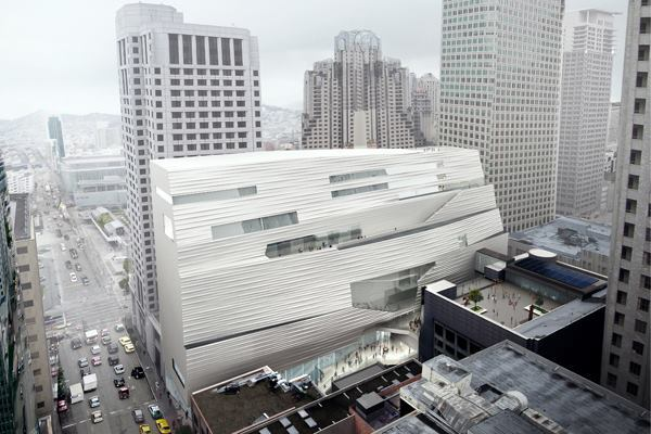 November 2011 rendering showing the new SFMOMA addition from the east.