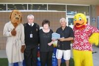 Pool Builder Receives Lifesaver Award