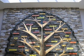 """Tree of Success"" at Fox Valley Technical College"