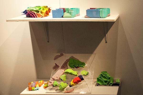 The Volatile Territories cluster used algorithms to accelerate the spatial redistribution of programs due to changing contexts. The team translated three-dimensional Cartesian coordinates into RGB colors to represent the outputs visually.