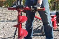 150-rpm handheld hydraulic earth drill