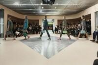 OMA Creates a Catwalk Funhouse for Prada's Fall Shows
