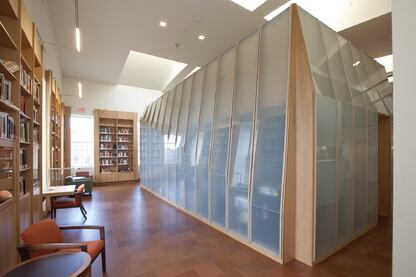 Anmahian Winton Architects transformed Rhode Island Hall at Brown University into the new home for the Joukowsky Institute for Archaeology and the Ancient World.