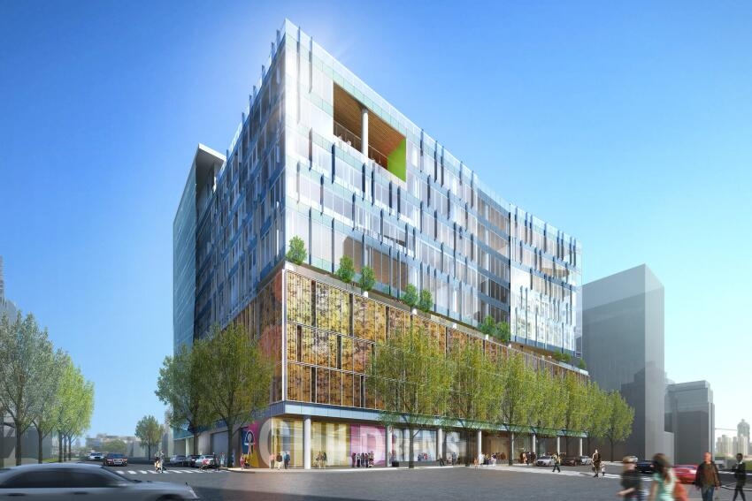 Children's Hospital of Richmond Pavilion (CHoRP), by HKS.