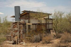A Pair of Taliesin West Desert Shelters Goes Meta