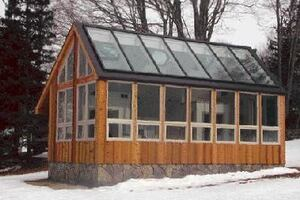 Glazing a Custom Sunroom