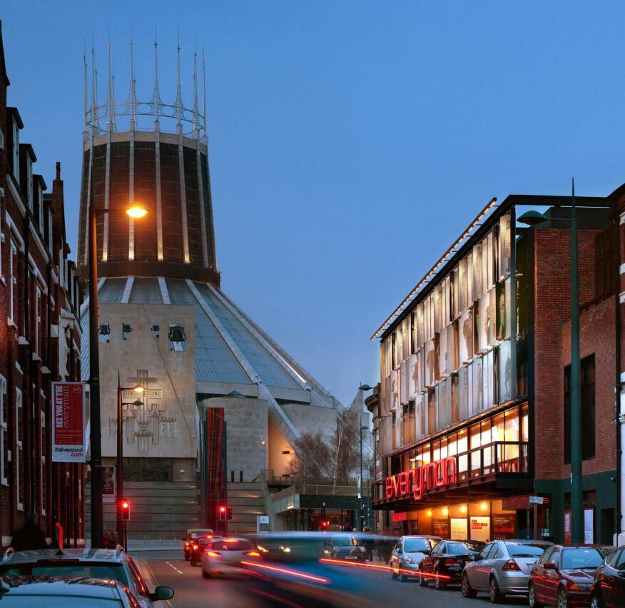 Everyman Theatre, Liverpool, U.K.