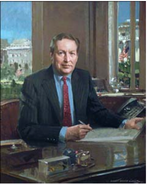 Summers' official Treasury portrait.